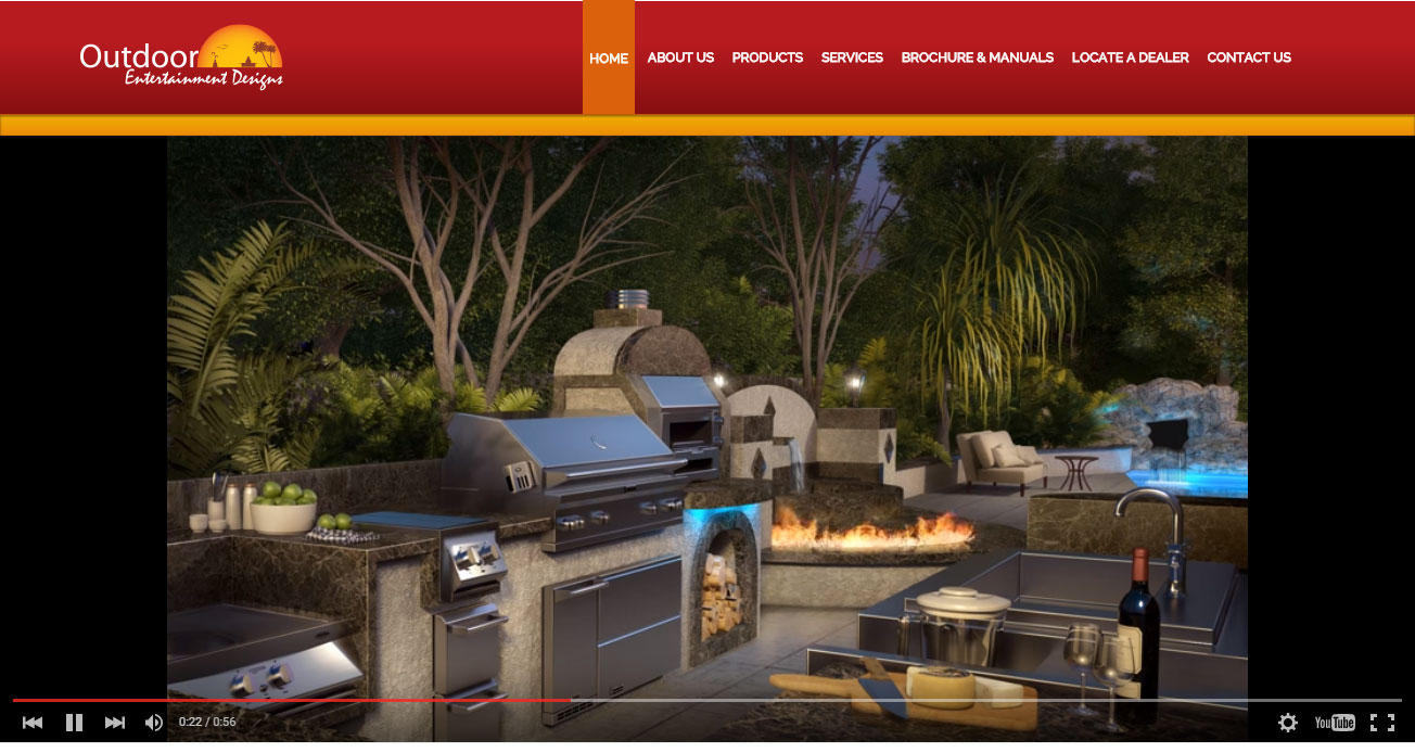 Outdoorentdesignsinc website